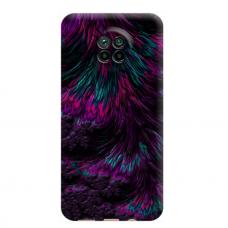 """Dėklas Unikaliu Dizainu """"U-Case Airskin Feather Design"""" 1.0 mm TPU Xiaomi Redmi Note 9T Telefonui"""