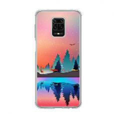 """Dėklas Unikaliu Dizainu """"U-Case Airskin Nature 5 Design"""" 1.0 mm TPU Xiaomi Redmi Note 9 Pro Telefonui"""