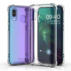 Dėklas Wozinsky Anti Shock Durable skirta Huawei P Smart 2019 Skaidrus