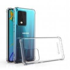 Dėklas Wozinsky Anti Shock Durable skirta Samsung Galaxy S20 Ultra Skaidrus
