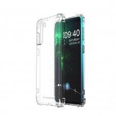 Dėklas Wozinsky Anti Shock Durable skirta Samsung Galaxy S21+ 5G (S21 Plus 5G) Skaidrus