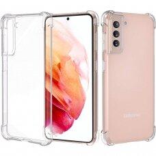 Dėklas Wozinsky Anti Shock Durable skirta Samsung Galaxy S21 5G Skaidrus