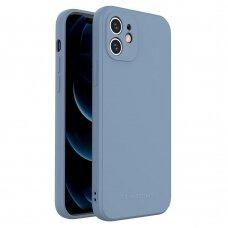 Dėklas Wozinsky Color Case silikonas iPhone 12 Mėlynas
