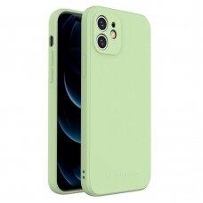 Dėklas Wozinsky Color Case silikonas iPhone 12 mini Žalias