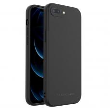 Dėklas Wozinsky Color Case silikonas iPhone 8 Plus / iPhone 7 Plus Juodas