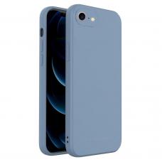 DĖKLAS WOZINSKY COLOR CASE SILIKONAS IPHONE SE 2020 / iPhone 8 / iPhone 7 MĖLYNAS