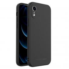 Dėklas Wozinsky Color Case silikonas iPhone XR Juodas