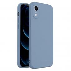 Dėklas Wozinsky Color Case silikonas iPhone XR Mėlynas