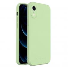 Dėklas Wozinsky Color Case silikonas iPhone XR žalias