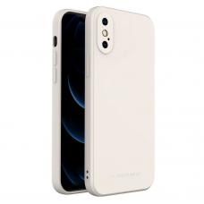 Dėklas Wozinsky Color Case silikonas iPhone XS Max Baltas