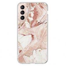 Dėklas Wozinsky Marble TPU  Samsung Galaxy S21 5G rožinis