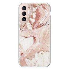 Dėklas Wozinsky Marble TPU Samsung Galaxy S21+ 5G (S21 Plus 5G) rožinis