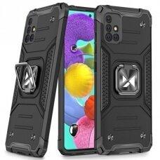 Dėklas Wozinsky Ring Armor Case Samsung Galaxy A51 Juodas