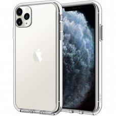 Dėklas X-Level Antislip/O2 Apple Iphone 11 Pro Max Skaidrus
