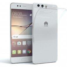 Dėklas X-Level Antislip/O2 Huawei P10 Skaidrus