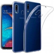 Dėklas X-Level Antislip/O2 Samsung A202 A20e skaidrus UCS033