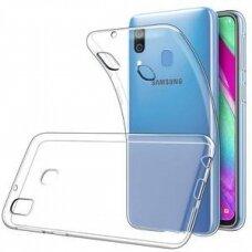 Dėklas X-Level Antislip/O2 Samsung A405 A40 Skaidrus