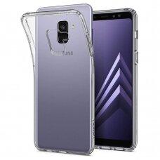 Dėklas X-Level Antislip/O2 Samsung A530 A8 2018 skaidrus UCS036
