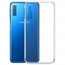 Dėklas X-Level Antislip/O2 Samsung A750 A7 2018 skaidrus UCS037