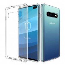 Dėklas X-Level Antislip/O2 Samsung G975 S10 Plus Skaidrus