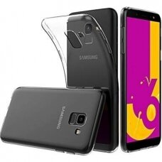 Dėklas X-Level Antislip/O2 Samsung J610 J6 Plus 2018 skaidrus UCS047
