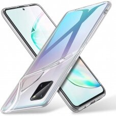Dėklas X-Level Antislip/O2 Samsung Note 10 Lite/A81 Skaidrus