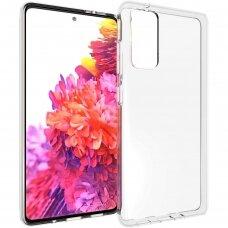 Dėklas X-Level Antislip/O2 Samsung S20 Fe/S20 Lite Skaidrus