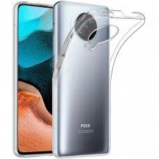 Dėklas X-Level Antislip/O2 Xiaomi Poco F2 Pro/K30 Pro skaidrus UCS108