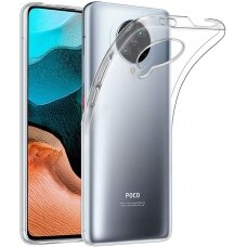 Dėklas X-Level Antislip/O2 Xiaomi Poco F2 Pro/K30 Pro Skaidrus