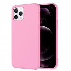 Dėklas X-Level Dynamic Apple iPhone 11 Pro Max rožinis