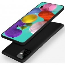 Dėklas X-Level Dynamic Samsung A515 A51 juodas UCS025