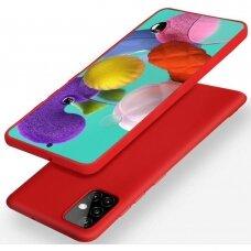 Dėklas X-Level Dynamic Samsung A515 A51 raudonas UCS025
