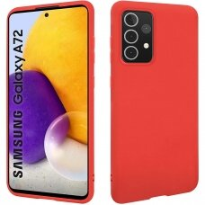Dėklas X-Level Dynamic Samsung A72 raudonas