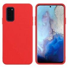 Dėklas X-Level Dynamic Samsung G981 S20/S11E Raudonas