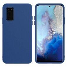 Dėklas X-Level Dynamic Samsung G981 S20/S11E Tamsiai Mėlynas