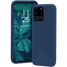 Dėklas X-Level Dynamic Samsung G988 S20 Ultra/S11 Plus Tamsiai Mėlynas