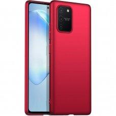 Dėklas X-Level Dynamic Samsung S10 Lite/A91 Raudonas
