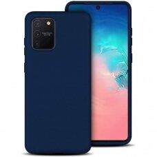 Dėklas X-Level Dynamic Samsung S10 Lite/A91 Tamsiai Mėlynas