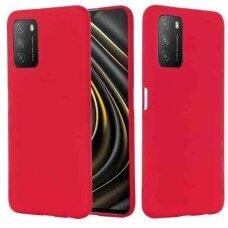 Dėklas X-Level Dynamic Xiaomi Redmi Note 10 5G/Poco M3 Pro 4G/5G raudonas
