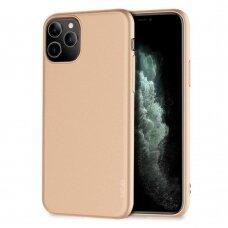 Dėklas X-Level Guardian Apple iPhone 11 Pro Max auksinis USC056