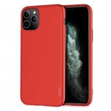 Dėklas X-Level Guardian Apple iPhone 11 Pro Max raudonas USC056