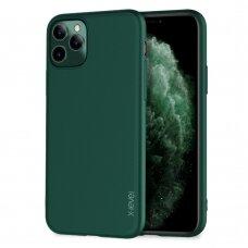 Dėklas X-Level Guardian Apple iPhone 11 Pro Max tamsiai žalias USC056