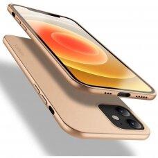 Dėklas X-Level Guardian Apple Iphone 12 Auksinis