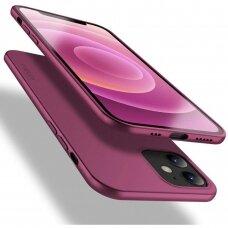 Dėklas X-Level Guardian Apple Iphone 12 Bordo