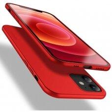 Dėklas X-Level Guardian Apple Iphone 12 Raudonas