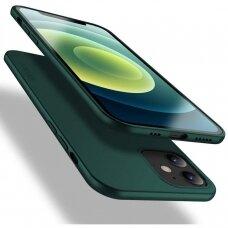 Dėklas X-Level Guardian Apple Iphone 12 Tamsiai Žalias