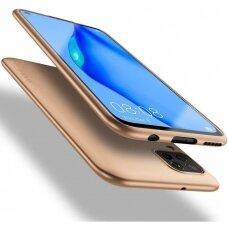 Dėklas X-Level Guardian Huawei P40 Lite/Nova 6 SE/Nova 7i auksinis UCS068