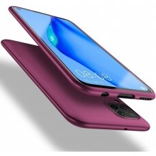 Dėklas X-Level Guardian Huawei P40 Lite/Nova 6 SE/Nova 7i bordo UCS068