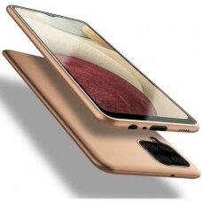 Dėklas X-Level Guardian Samsung A125 A12 auksinis