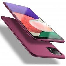 Dėklas X-Level Guardian Samsung A226 A22 5G bordo